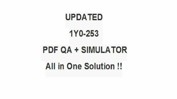 Implementing Citrix NetScaler 10.5 for App and Desktop Test 1y0-253 Exam QA