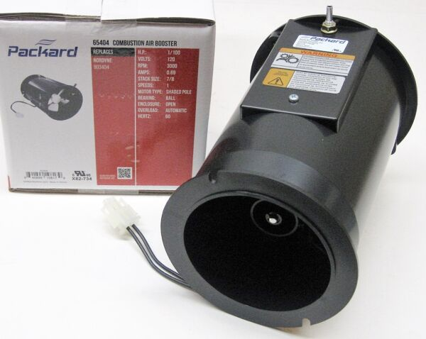 Packard Draft Inducer Furnace Fan Motor 65404 for Intertherm Miller Nordyne