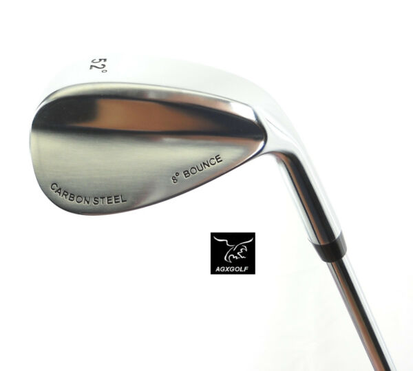 AGXGOLF MENS RIGHT HAND TOUR CARBON 52 DEGREE GAP WEDGE: CADET REGULAR or TALL $49.95