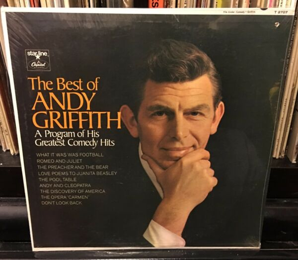 still sealed The Best of ANDY GRIFFITH His Greatest Comedy Hits T 2707