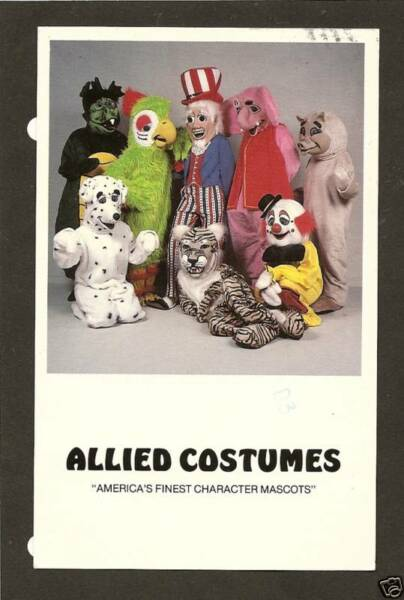 ALLIED COSTUMES WINTER PARK FLORIDA * $5.00