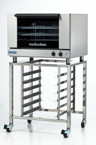 Moffat Turbofan Electric 3 Full Pan Convection Oven Manual w Stand