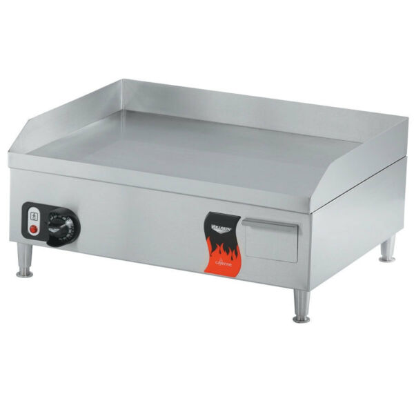 Vollrath 40715 Cayenne 14quot; Electric Flat Top Griddle Stainless 1800W