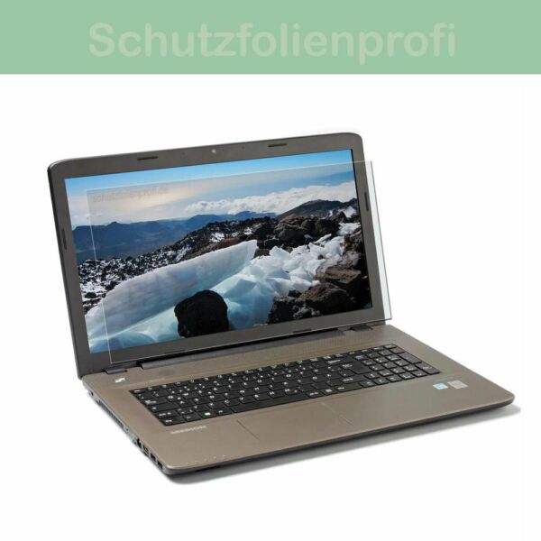 HP Notebook 17-y032ng  - 2x Maoni Antireflex Displayschutzfolie