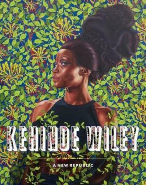 Kehinde Wiley: A New Republic by Eugenie Tsai (English) Hardcover Book Free Ship