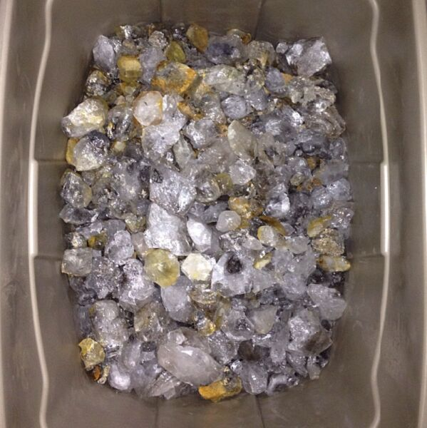 5lbs. Of Rough Herkimer Diamonds - Genuine From Herkimer County NY USA