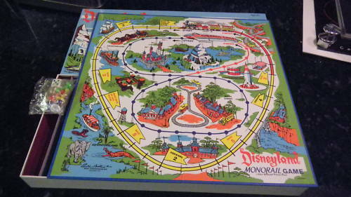 DISNEYLAND 50TH ANNIVERSARY RETRO MONORAIL GAME $65.00