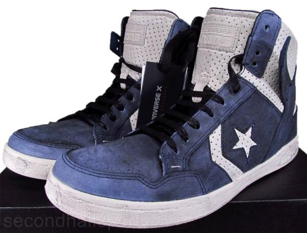 Converse John Varvatos JV Weapon Mid Sneaker Leather BLUE (DARK DENIM) 142963C