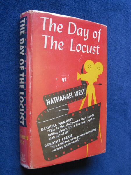 DAY OF THE LOCUST - SIGNED & INSCRIBED by NATHANAEL WEST to LOU BRESLOW 1st Ed.