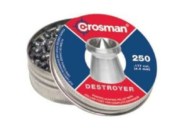 Crosman DS177 Destroyer Pointed Dished Rim .177 Hunting Pellets 250 Count Tin $9.67