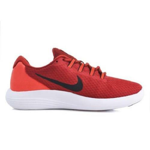 Men's NIKE LUNAR CONVERGE 85246 Red Athletic/Running Sneakers Shoes NEW