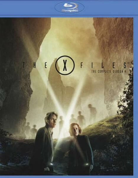 THE X FILES THE COMPLETE FOURTH SEASON NEW BLU RAY