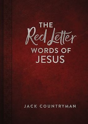 The Red Letter Words of Jesus (Leather / Fine Binding)