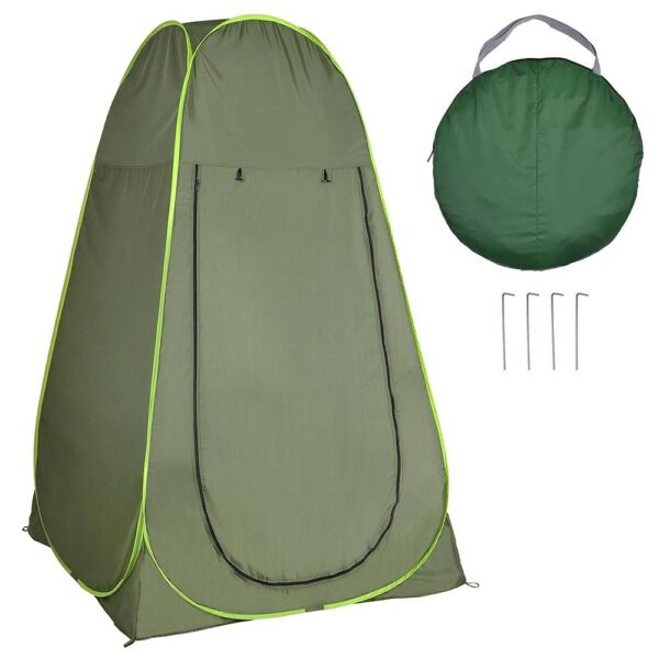4 Person Portable Camping Hiking Pop Up Tent Shelter Outdoor Shower Bathroom