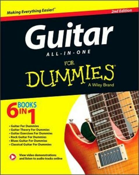 Guitar All-In-One for Dummies, Book + Online Video & Audio Instruction (Paperbac