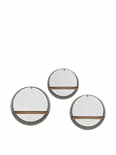 Laurel Round Wall Shelves - Set of 3 65320-3 NEW