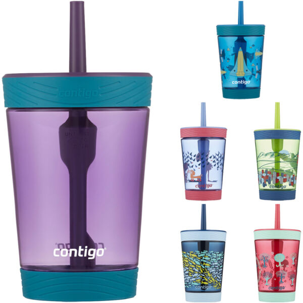 Contigo 14 oz. Kid's Spill Proof Sippy Cup Tumbler with Straw