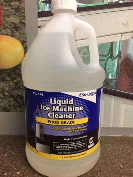 Nu-Calgon 4207-08 1 Gallon Liquid Ice Machine & Coffee Brewer Cleaner NEW OEM