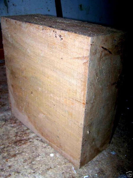 THICK LARGE CHERRY BOWL BLANK TURNING BLOCK LUMBER WOOD 10 X 10 X 5quot;