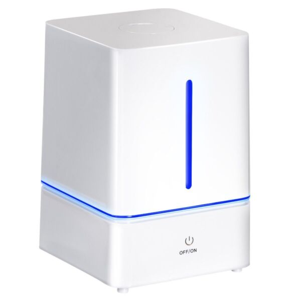 Large 4L Ultrasonic Cool Mist Air Humidifier Filter Aromatherapy LED Night Light
