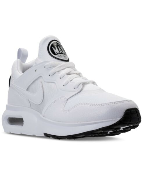 Nike Men's Athletic Sneakers Running Casual Shoes Air Max Prime White 876068-100