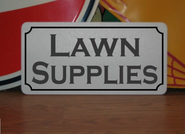 LAWN SUPPLIES Metal 6