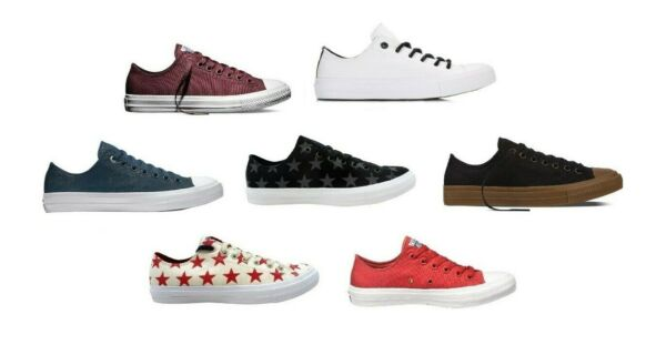 Converse Chuck II Chuck Taylor All Star Lo Top Sneaker Chuck 2 Ox Oxford Low