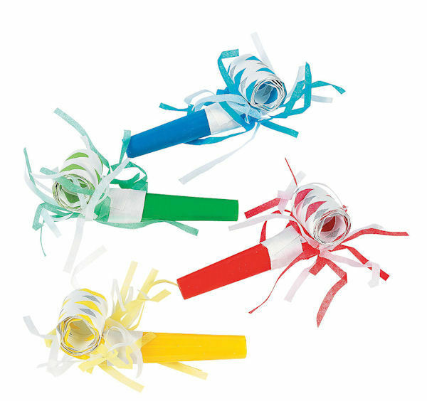 24 BLOWOUTS w/ Fringe Toys PARTY Kid's birthday favors