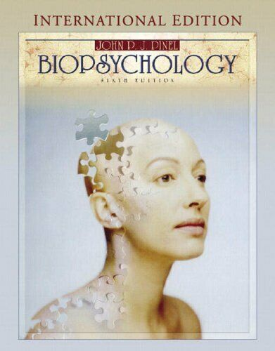 Biopsychology International Edition by Pinel John P.J. 020545075X The Fast
