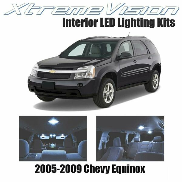 XtremeVision LED for Chevrolet Equinox 2005 2009 4 Pieces Cool White Premium..