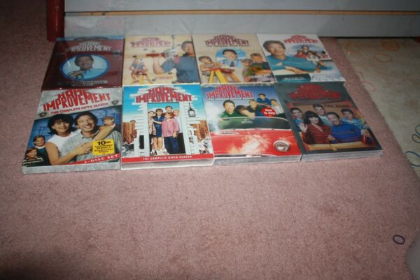 Home Improvement: Complete Seasons 1, 2, 3,4, 5, 6, 7 & 8 DVD *Brand New Sealed*