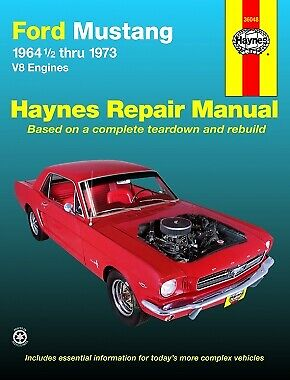 1964-1973 Ford Mustang Haynes Repair Service Shop Workshop Manual Book 3577