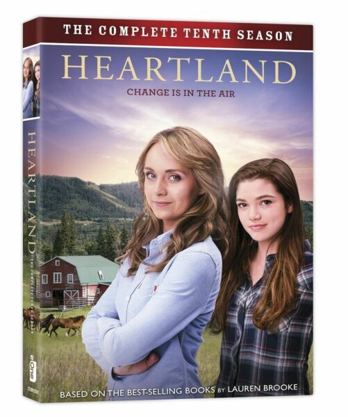 Heartland: The Complete Tenth Season 10 (DVD, 5-Disc Set) - Brand New