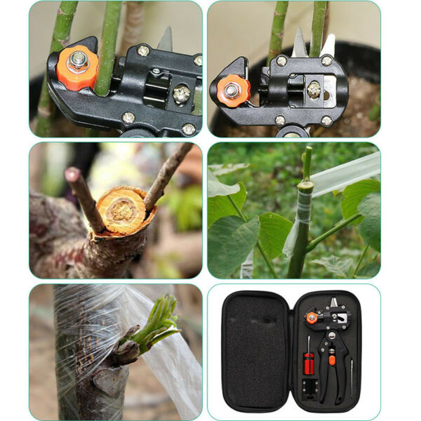 FOR Garden Nursery Fruit Tree Pro Pruning Shears Scissor Grafting Cutting Tools