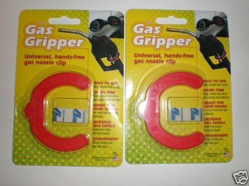 2 GAS GRIPPER UNIVERSAL HANDS FREE GAS NOZZLE CLIP