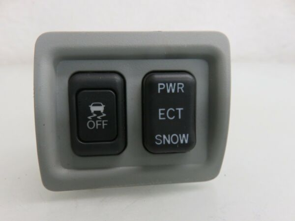 06-08 LEXUS IS250 IS350 TRACTION CONTROL SNOW POWER SWITCH W GREY COVER OEM