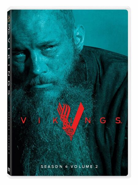 Vikings: Season 4 Volume 2 (DVD, 2017,3-Disc Set) - Brand New