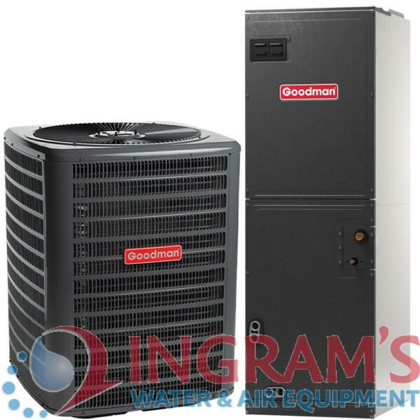 GSX130301ARUF29B14 2.5 Ton 13 SEER Multi Speed Goodman Central Air Conditioner