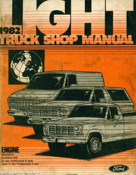 1982 Ford Light Truck Shop Manual