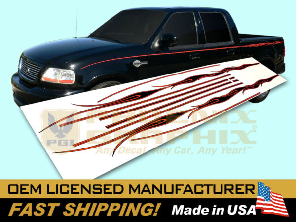 compatible with 2002 Ford Harley Davidson F150 Truck Flames Decals Stripes $119.00