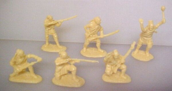 18 American Indians set #1 AIP plastic soldiers army men # 5547