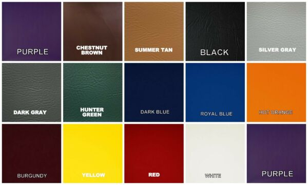 VINYL amp; CAMO MATERIAL SAMPLES SWATCHES in 25 COLORS 3quot;X3quot; 8 pc
