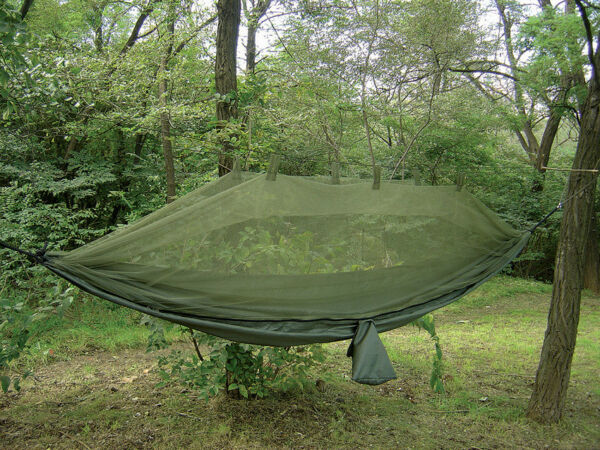 Snugpak Jungle Hammock with Mosquito Net 9#x27; x 4#x27;8quot; Coyote Tan $72.95
