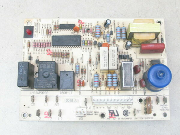 Carrier Bryant Payne LH33WP003A Furnace Ignition Control Circuit Board 1068 11 $55.00