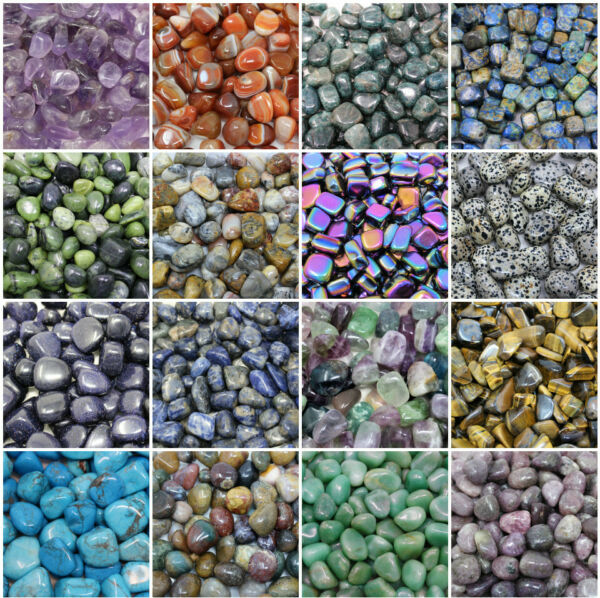 2 oz Lots Tumbled Stones: Choose Your Type (Crystal Healing Gemstone) ON SALE!