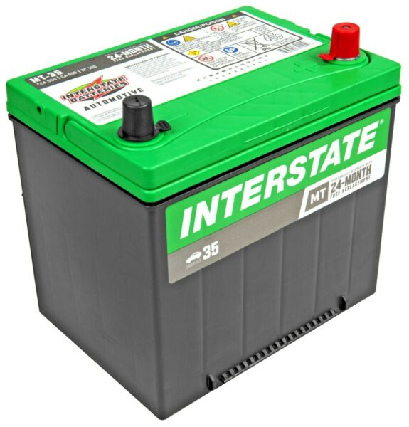 Car Battery-Mt INTERSTATE MTP-35 Vehicle Starting Battery