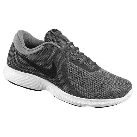 NIKE Revolution 4 Men's Running Shoes Gray Athletic Sneakers 908988/AA7402 NEW