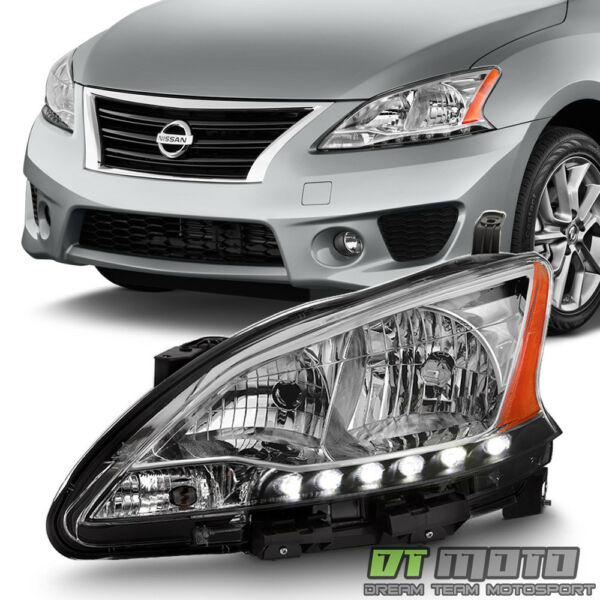 For 2013 2014 2015 Sentra Factory Style Headlight Headlamp LH Left Driver Side