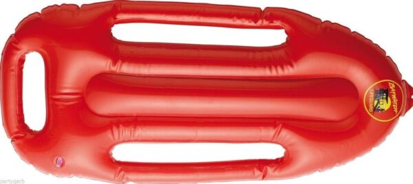 Licensed Baywatch Inflatable Rescue Float Costume Prop Lifeguard Beach Patrol