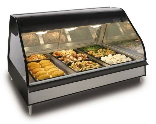 Alto-Shaam Halo 48in Counter Top Heated Self Serve Food Display System